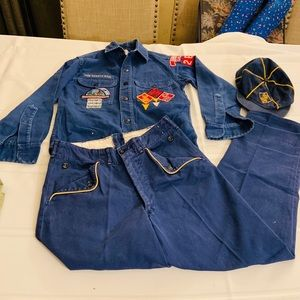 Vintage 1966 Cub Scouts of America Blue Official